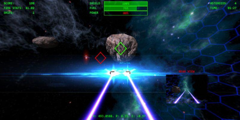 Asteroids1 curso unity bilbao